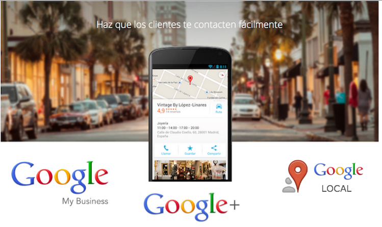 Google Plus Local y Google Maps